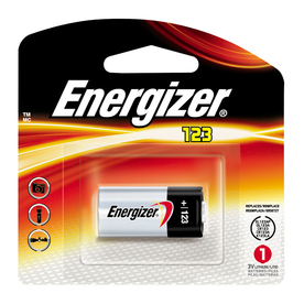 Energizer 123A Lithium Battery