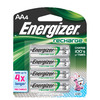 Energizer 4-Pack AA Rechargeable Batteries