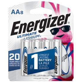 Energizer 8-Pack AA Lithium Battery