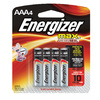 Energizer 4-Pack AAA Alkaline Battery