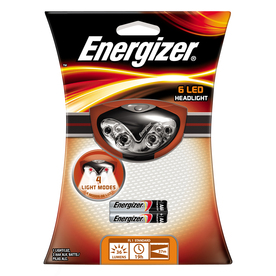 Energizer 80-Lumen LED Headlamp Battery Flashlight
