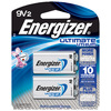 Energizer 2-Pack PP3 (9V) Lithium Batteries