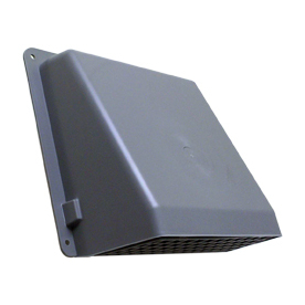 Lambro 6&#034; Gray Plastic Wall Cap