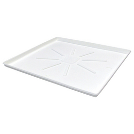 Lambro 31-in x 36-in Premium Heavy-Duty Washer Tray