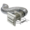 Lambro 4-in x 8-ft Aluminum Flex Duct