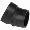 NIBCO 4-in Dia 22-1/2-Degree ABS Street Elbow Fitting
