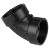 NIBCO 3-in Dia 60-Degree ABS Elbow Fitting