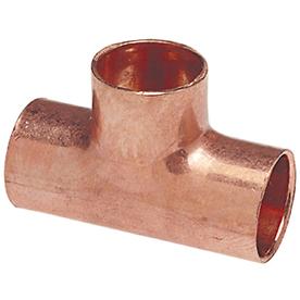 1/2-in x 1/2-in x 1/2-in Copper Slip Tee Fitting