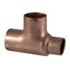 3/4-in x 1/2-in x 3/4-in Copper Slip Tee Fitting