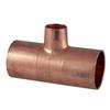 1-1/4-in x 1-1/4-in x 3/4-in Copper Slip Tee Fitting