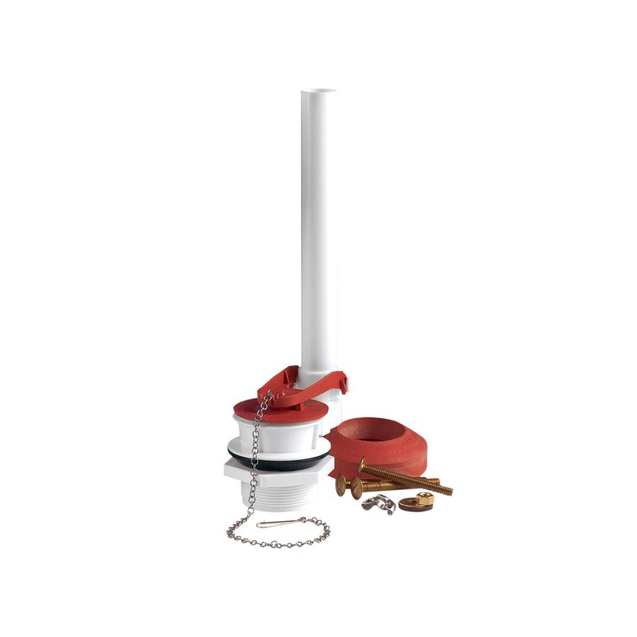 shop fluidmaster complete 2 in toilet flush valve kit at