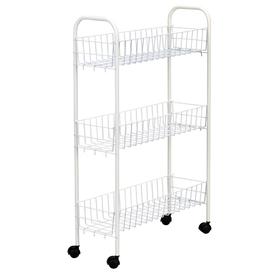Household Essentials Slimline 3-Shelf Utility Cart