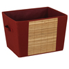Household Essentials 11.25-in W x 15.75-in H Brick Fabric Bin
