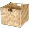 Household Essentials 13-in W x 13-in D Storage Bin