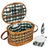 Household Essentials 18.5-in W x 10.5-in H Brown Wicker Basket