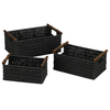 Household Essentials 14.5-in W x 9.5-in D Rope Basket