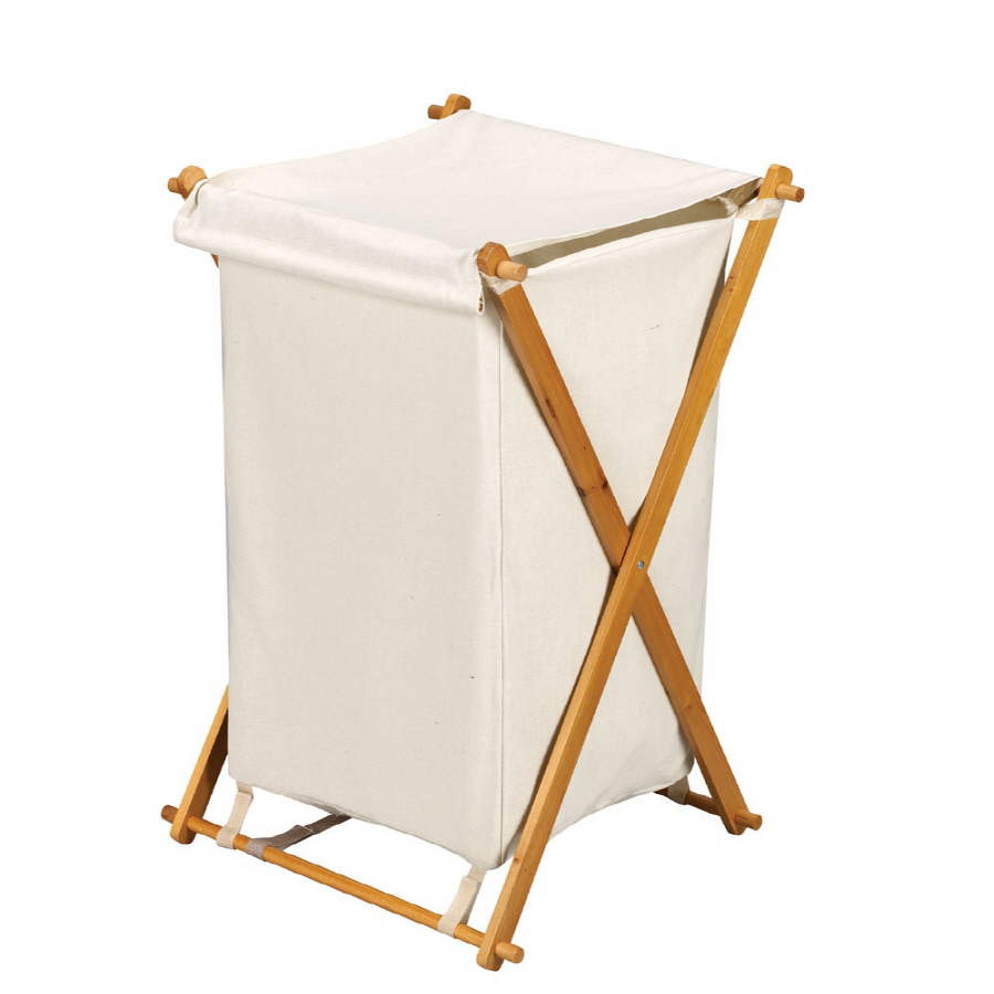 Shop household essentials wood clothes hamper at - Wooden hampers for laundry ...