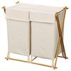 Household Essentials 1-Piece Wood Clothes Hamper