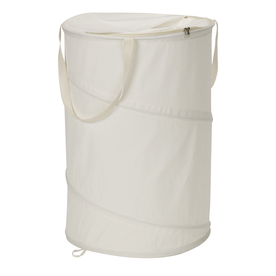 Household Essentials Canvas Clothes Hamper