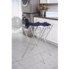 Real Organized Metal Drying Rack