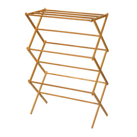 Household Essentials Wood Drying Rack