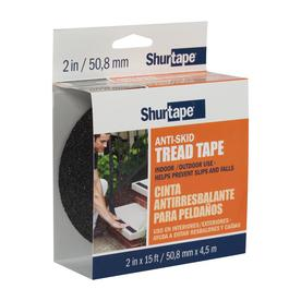 Shurtape 2-in x 15-ft Black Safety Tape