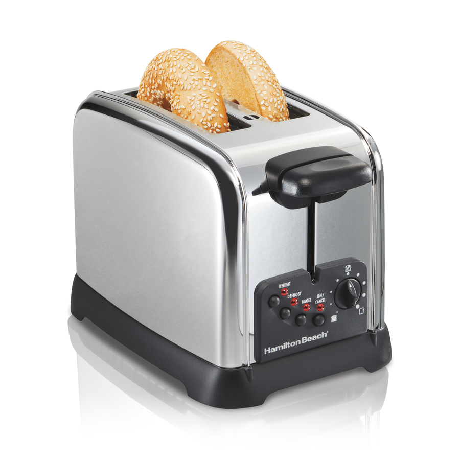 Shop Hamilton Beach 2 Slice Stainless Steel Toaster At