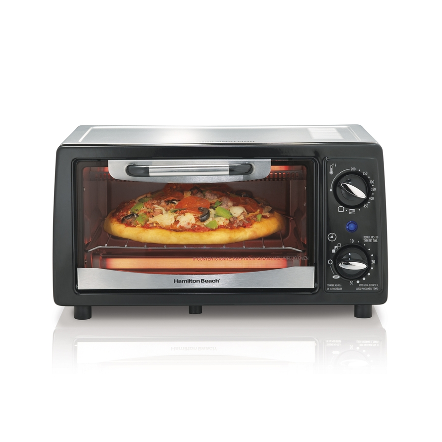 Shop Hamilton Beach 4-Slice Toaster Oven at Lowes.com