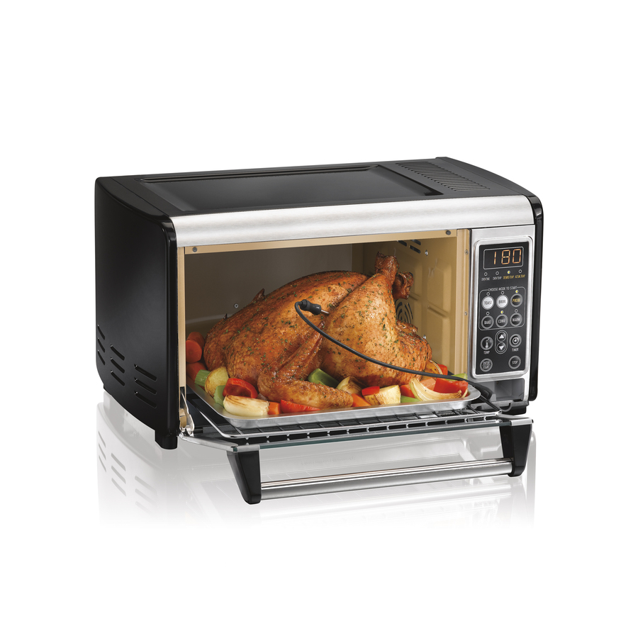 Shop Hamilton Beach 6-Slice Convection Toaster Oven at Lowes.com