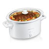 Hamilton Beach 8-Quart White Oval Slow Cooker