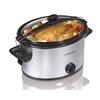 Hamilton Beach 5-Quart Silver Oval Slow Cooker