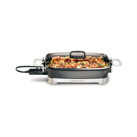 Hamilton Beach 16-in L x 12-in W 1,500-Watt Electric Skillet