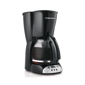 Hamilton Beach Black 12-Cup Programmable Coffee Maker