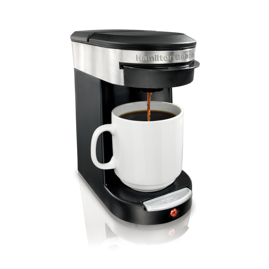 Shop Hamilton Beach Black Single Serve Coffee Maker At