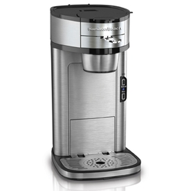 Hamilton Beach Stainless Steel Single Serve Coffeemaker