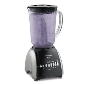 Hamilton Beach 48-oz Black 10-Speed 550-Watt Pulse Control Blender