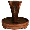 Henri Studio Centerpiece 1-Tier Outdoor Fountain with Pump