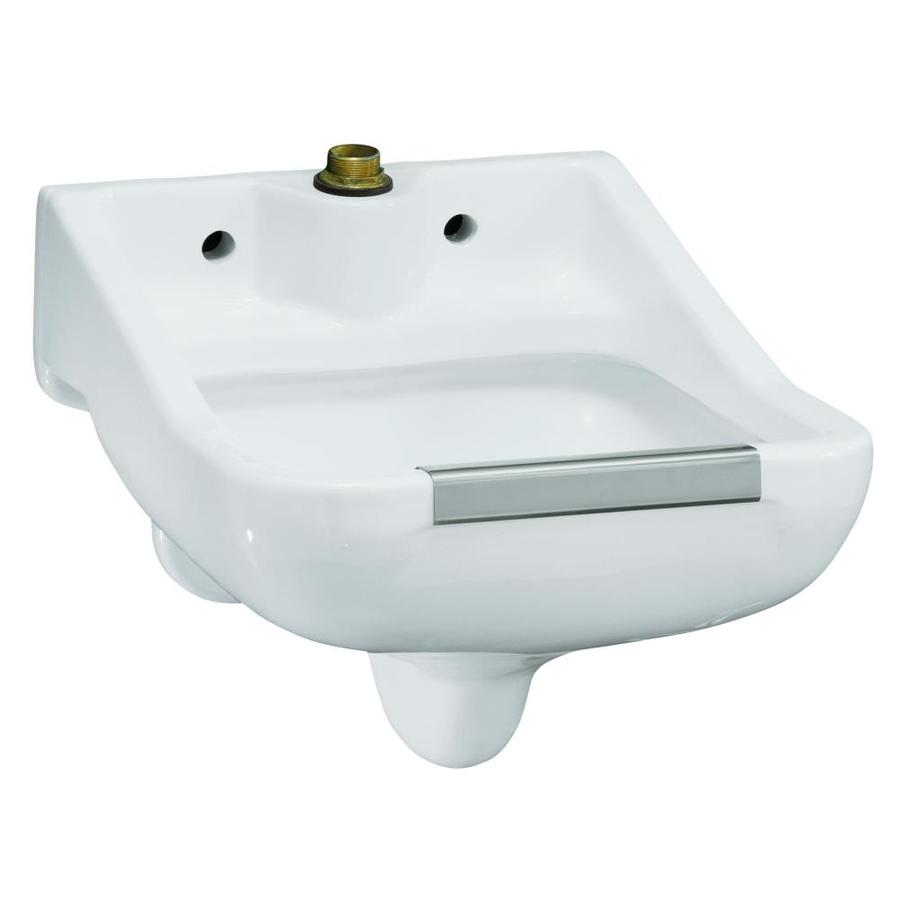 Shop KOHLER White Vitreous China Laundry Sink at Lowes.com