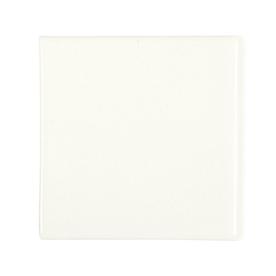 KOHLER 6-Pack White Glazed Porcelain Bullnose Trim (Common: 4-1/2-in x 4-1/2-in; Actual: 4.25-in x 4.25-in)