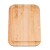 KOHLER 12-in L x 17-in W Wood Cutting Board
