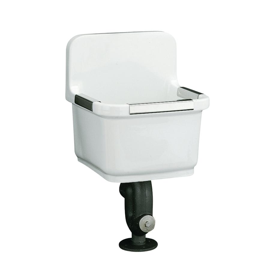 Shop Kohler White Vitreous China Laundry Sink At
