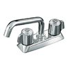KOHLER Coralais Polished Chrome 2-Handle Laundry Faucet