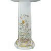 KOHLER 36.5-in H Vitreous China Pedestal Sink Base