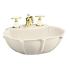 KOHLER Anatole 21.75-in L x 18.25-in W Vitreous China Oval Pedestal Sink Top
