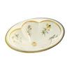 KOHLER Cantata Biscuit Drop-in Oval Bathroom Sink