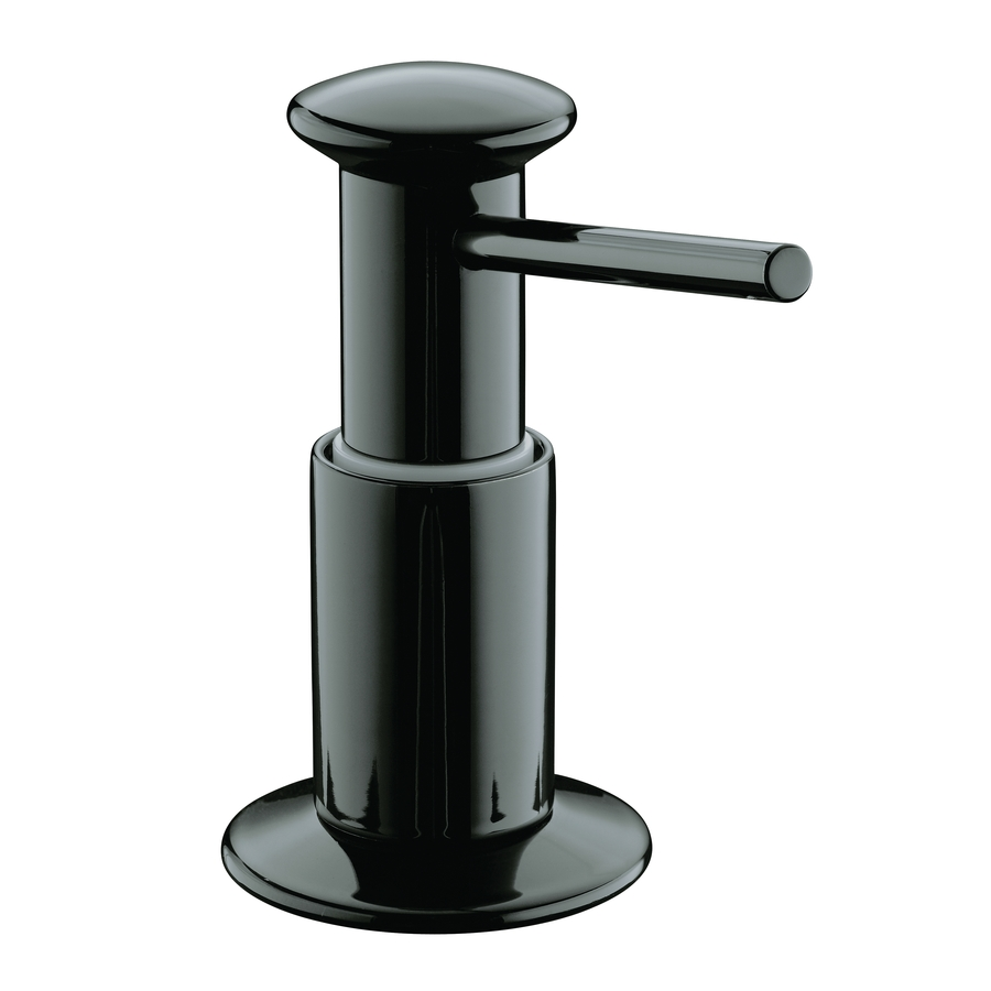 Shop kohler black soap lotion dispenser at - Kohler soap lotion dispenser ...