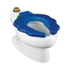 KOHLER Primary Children's Height White 10-in Rough-In Elongated Toilet Bowl