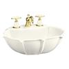 KOHLER 21.75-in L x 18.25-in W Vitreous China Pedestal Sink Top