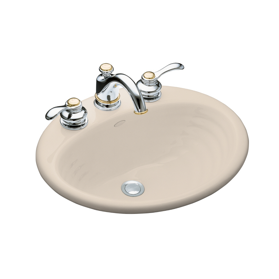 Shop KOHLER Cast Iron Bathroom Sink at Lowes.com