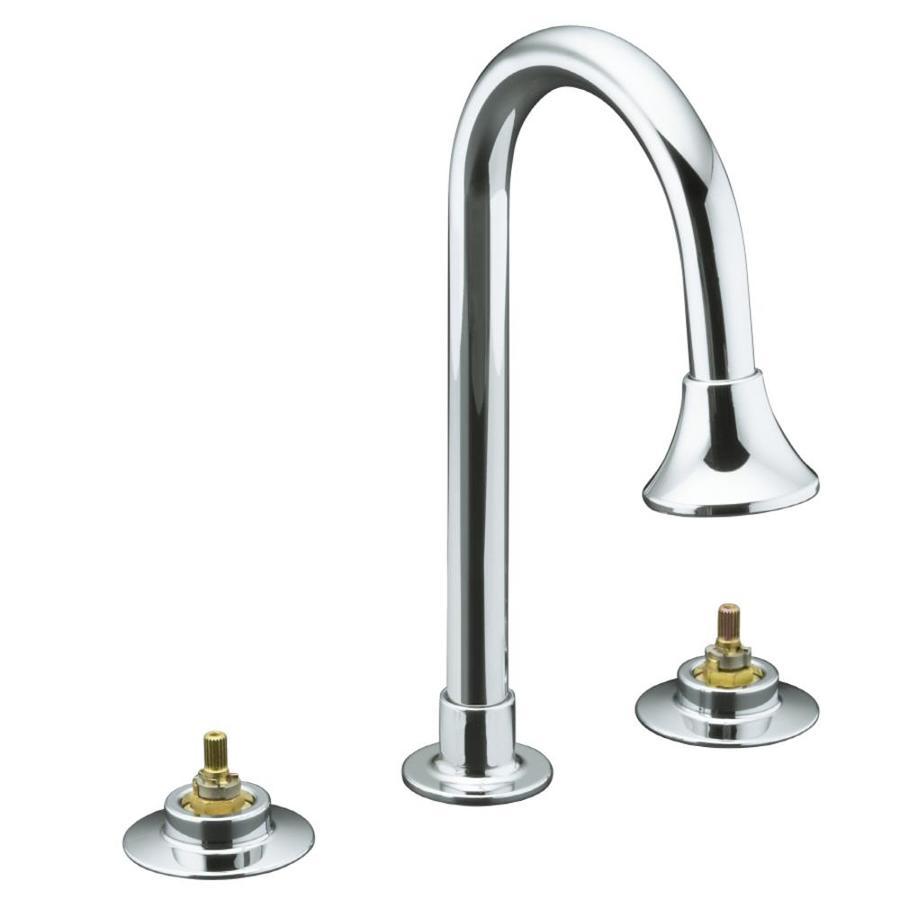 KOHLER Triton Polished Chrome 2 Handle Bathroom Sink Faucet